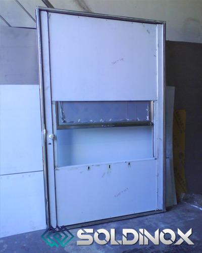 Puerta de Transferencia en Acero Inoxidable – Cod 1040.