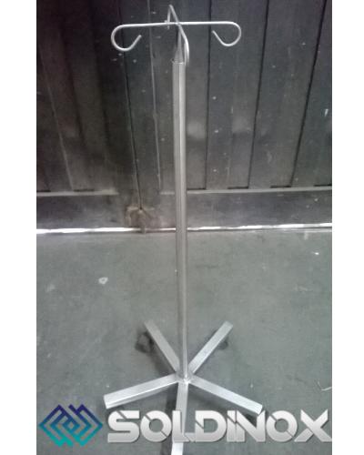 Porta Suero Regulable en Acero Inoxidable – Cod 990.